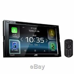 JVC KW-V830BT 2-DIN In-Dash DVD Bluetooth Receiver with 6.8 LCD Touchscreen