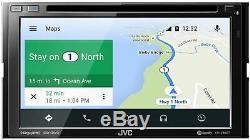 JVC KW-V85BT 2 DIN DVD/CD Player 6.8 LCD Spotify Pandora Bluetooth SiriusXM