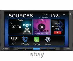 Jensen CAR710 Double DIN 7 LCD Apple CarPlay Multimedia Car Stereo Receiver