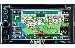 Jvc Kw-nt30hd 6.1 Tft LCD Bluetooth Navigation Hd Radio Gps Car Stereo Receiver