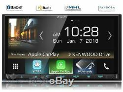Kenwood DMX7705S NO CD LCD Touch Screen Car Stereo 2DIN Android Auto/CarPlay