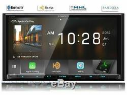 Kenwood DMX905S NO CD LCD Touch Screen Car Stereo 2DIN Android Auto/CarPlay