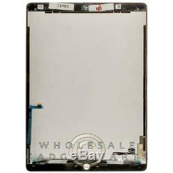 LCD Digitizer Assembly for Apple iPad Pro 12.9 Black Front Glass Touch Screen