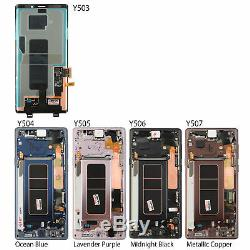 LCD Display Touch Screen Digitizer + Frame Replacement for Samsung Galaxy Note 9