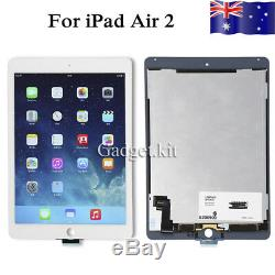 LCD Display Touch Screen Glass Panel Digitizer Assembly For iPad Air 2 White New
