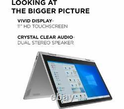 LENOVO IdeaPad Flex 3i 11.6 2 in 1 Laptop Intel Pentium Silver 64GB eMMC Grey