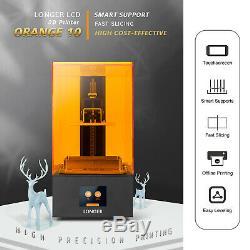 LONGER 3D Printer 9855140mm High Precision UV LCD Resin Full Color Touchscreen