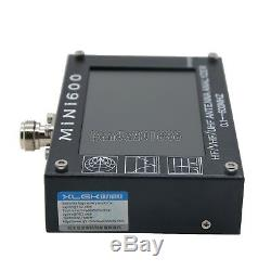 MINI600 HF/VHF/UHF Antenna Analyzer 0.1-600MHZ with 4.3 TFT LCD Touch Screen paDE