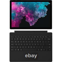 Microsoft Surface Pro 6 12.3 LJM-00028 i5 8GB 256GB Type Cover Keyboard Bundle