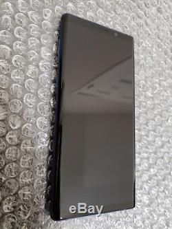Mint Samsung Galaxy Note 9 Note9 N960 LCD Digitizer Frame Ocean Blue