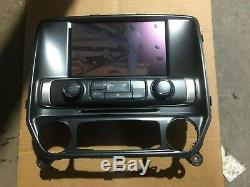 New 2014-2017 Oem Factory Gmc Sierra 8 LCD Intellilink Radio Touch Screen