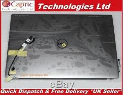 New DELL XPS 13-9350 model P54G 13.3 QHD LCD Full Touch Screen Assembly P54G002