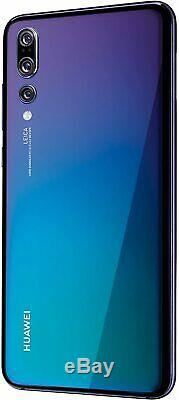 New Huawei P20 Black 128GB 4G LTE 20MP WIFI NFC 5.8 LCD Unlocked Smartphone