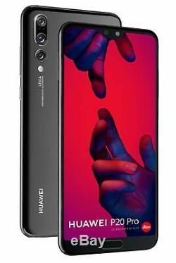 New Huawei P20 Pro 128GB Black 4G LTE 40MP WIFI NFC 6.1 LCD Unlocked Smartphone