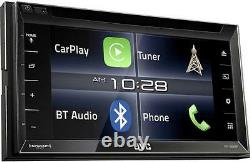 New JVC Arsenal KW-V820BT DVD/CD Player 6.8 Touchscreen LCD Bluetooth Pandora