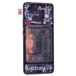Original Huawei Mate 20 Pro LCD Display Touch Screen Bildschirm Rahmen Akku Blau
