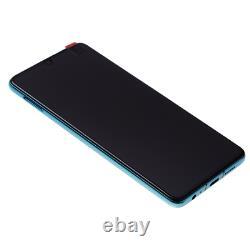 Original Huawei P30 OLED LCD Display + Touch Screen Bildschirm Aurora Blau Blue