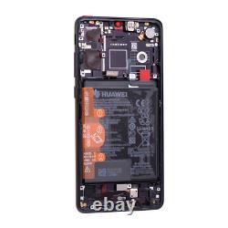 Original Huawei P30 OLED LCD Display + Touch Screen Bildschirm Digitizer Schwarz