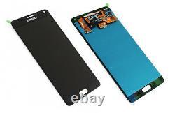 Original Samsung Galaxy Note 4 N910F LCD Display Touchscreen Touch Panel Schwarz