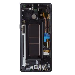 Original Samsung Galaxy Note 8 N950F LCD Display+Touch Screen Bildschirm Schwarz