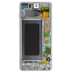 Original Samsung Galaxy S10 Plus G975F LCD Display Touch Screen Bildschirm Weiß