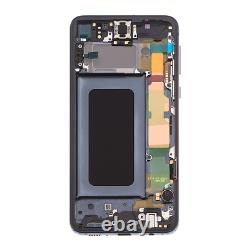 Original Samsung Galaxy S10e G970F LCD Display Touch Screen Bildschirm Schwarz