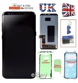 Original Samsung Galaxy S8 G950F LCD Display Touch Screen Digitizer Replacement