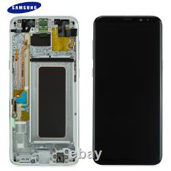 Original Samsung Galaxy S8 Plus G955F LCD Display Touch Screen Bildschirm Silber