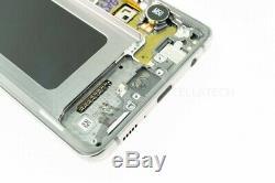 Original Samsung SM-G975F Galaxy S10 Plus Display LCD Touchscreen+Rahmen Schwarz