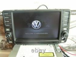 Original VW GOLF 7 VII 5G Navigation Display Bedienteil Discover Pro 5G0919606