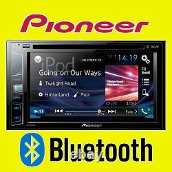 PIONEER Car/Van CD DVD USB Double Din 2DIN Stereo Bluetooth iPod iPhone 6.2 LCD