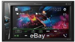 PIONEER MVH-G210BT Autoradio 2DIN mit Bluetooth LCD 6.2 Touchscreen Video