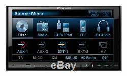 Pioneer AVH-P4100DVD 7 Touchscreen LCD Double Din DVD/CD/MP3 Player Receiver
