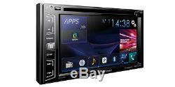 Pioneer AVH-X390BS RB 2 DIN DVD Player 6.2 LCD Bluetooth Sirius XM Spotify