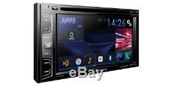 Pioneer Avh-x3800bhs Double 2 Din Dvd/mp3/cd Player 6.2 LCD Bluetooth Hd Radio