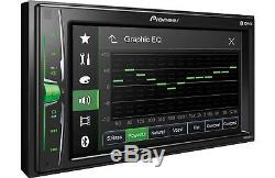 Pioneer MVH-200EX Double 2 DIN MP3/WMA Digital Media Player 6.2 LCD Bluetooth
