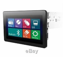 Power Acoustik Pd-103b 10.3 1-din LCD Touchscreen Bluetooth CD DVD Mp3 Stereo