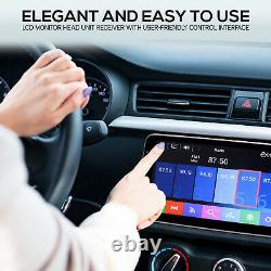Pyle PL1SN104 10.1 Touch Screen In-Dash Single DIN Player with Back up Camera