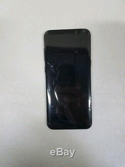 SAMSUNG Galaxy S8 plus Black LCD Touch Screen Digitizer Frame G955 NEW Original