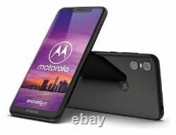 SIM Free Motorola One 5.9 Inch LCD 64GB 4GB 15MP 4G Android Mobile Phone Black