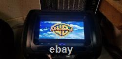 SONIC 2X7 Digital LCD TFT Screen CAR Headrest DVD Player Pillow Monitor, HR7A