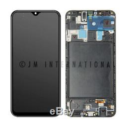 Samsung Galaxy A20 SM-A205U LCD Display Digitizer Touch Screen + Frame Assembly