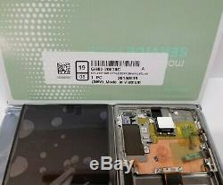 Samsung Galaxy Note 10 Plus Glow Silver LCD Display Screen Digitizer Frame N975