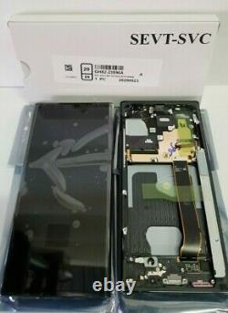 Samsung Galaxy Note 20 Ultra Black LCD Display Screen Digitizer Frame N986 OEM