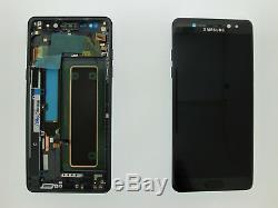 Samsung Galaxy Note 7 Fe N930f LCD Touch Screen Display Original Genuine Black