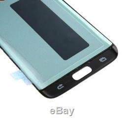 Samsung Galaxy S7 Edge LCD Display Touchscreen Schwarz
