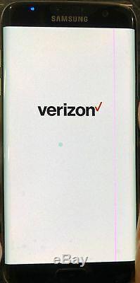 Samsung Galaxy S7 Edge SM-G935V 32GB Verizon + GSM Unlocked Smartphone LCD LINE