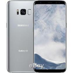 Samsung Galaxy S8 64GB Silver Unlocked Verizon / Global No LCD Burn