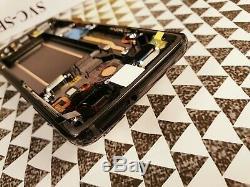Samsung Galaxy S9 SM-G960F BLACK LCD TOUCH SCREEN DISPLAY ORIGINAL GENUINE