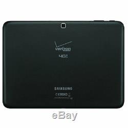 Samsung Galaxy Tab 4 10.1 SM-T537V 16GB Wi-Fi + 4G Verizon Unlocked Black